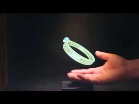Tek Camlı Hologram